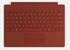 Surface Teclado Rojo