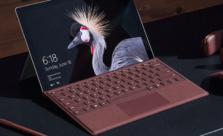 Teclado Surface Alcantara Microsoft FFP-00050