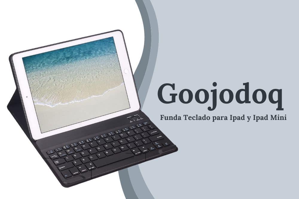 funda de teclado para ipad y ipad mini goojodog