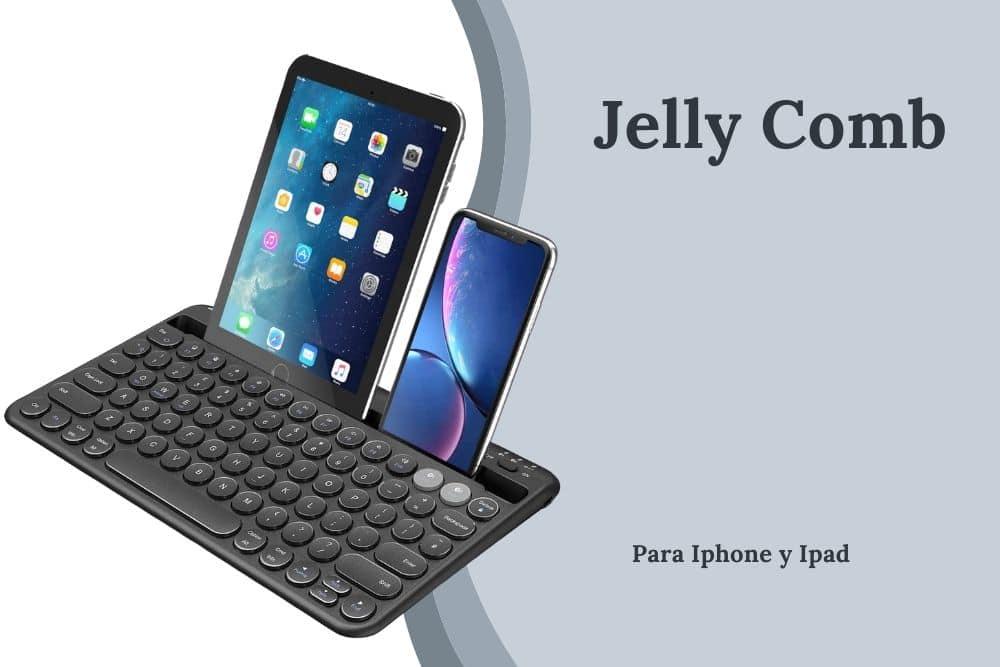 teclado para iphoney ipad al mismo tiempo